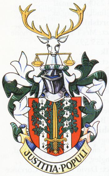 Arms of Nottinghamshire Magistrates Court Committee