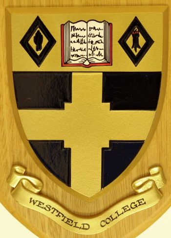 Coat of arms (crest) of Westfield College (London University)