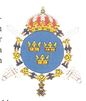 Coat of arms (crest) of the 1st Cavalry Regiment Life Guards Dragoons, Swedish Army
