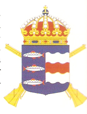 Coat of arms (crest) of the 21st Infantry Regiment Västernorrland Regiment, Swedish Army