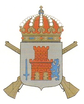 Coat of arms (crest) of the 17th Infantry Regt Bohuslän Regiment, Swedish Army