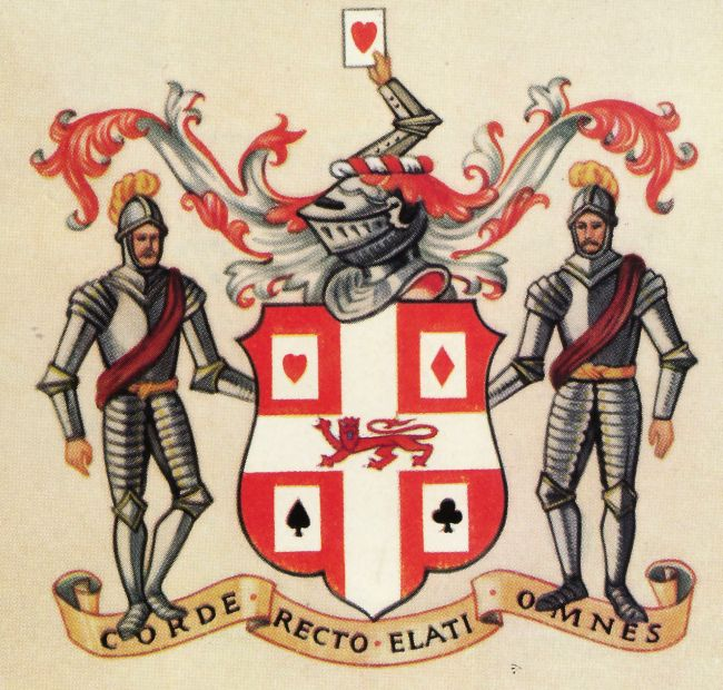 Arms of Worshipful Company of Makers of Playing Cards