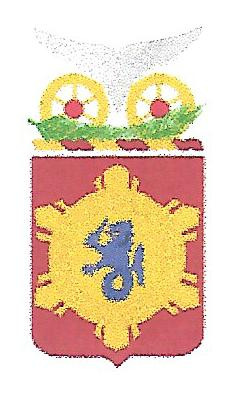 Arms of 330th Transportation Battalion, US Army