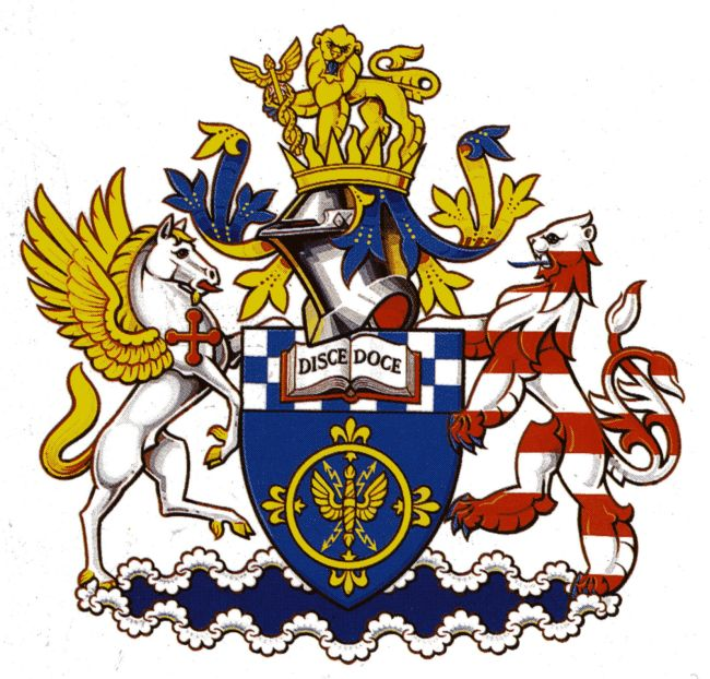 Arms of Institution of Electrical Engineers