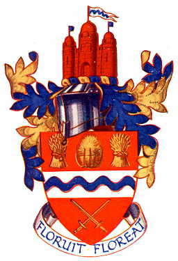 Arms (crest) of Newbury