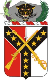 Arms of 61st Cavalry Regiment, US Army