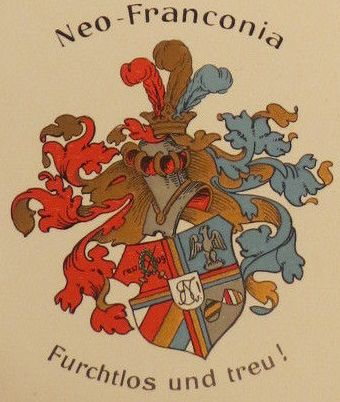 Arms of Corps Neo-Franconia zu Breslau
