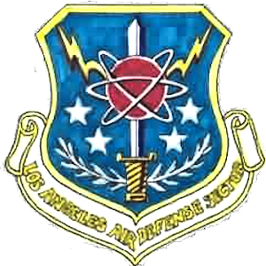Coat of arms (crest) of the Los Angeles Air Defence Sector, US Air Force
