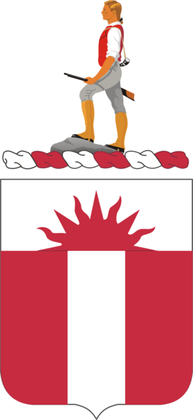 Coat of arms (crest) of the 321st Engineer Battalion, US Army