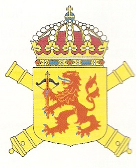 Coat of arms (crest) of the 6th Artillery Regiment Småland Artillery Regiment, Swedish Army