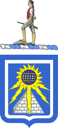 Arms of 140th Military Intelligence Battalion, US Army