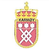 Coat of arms (crest) of the Mine Hunter KNM Karmøy (M341), Norwegian Navy