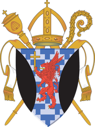 Arms (crest) of Cathedral Church of St Mark, Salt Lake City, Utah