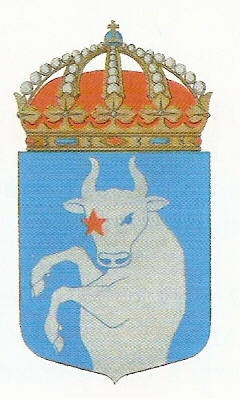 Coat of arms (crest) of the HMS Aldebaran, Swedish Navy