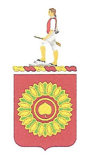 Arms of 821st Transportation Battalion, US Army