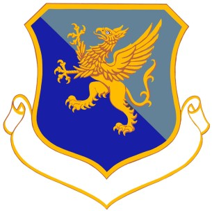 Coat of arms (crest) of the 35th Air Division, US Air Force