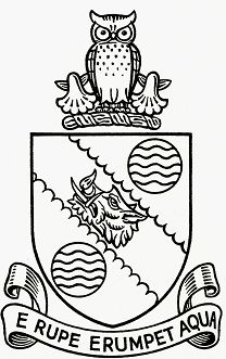 Arms of Grimsby, Cleethorpes and District Water Board