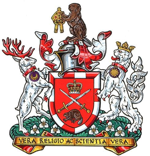 Arms of Huron University College
