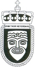 Coat of arms (crest) of the Frigate KNM Thor Heyerdahl (F314), Norwegian Navy