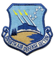 Coat of arms (crest) of the Duluth Air Defense Sector, US Air Force