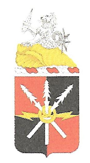 Arms of 442nd Signal Battalion, US Army