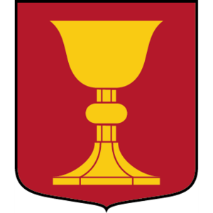 Coat of arms (crest) of the Kalix Company, 192nd Mechanized Battalion, Norrbotten Regiment, Swedish Army