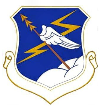 Coat of arms (crest) of the 326th Air Division, US Air Force