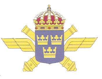 Coat of arms (crest) of the Air Defence Regiment, Swedish Army