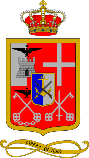 Coat of arms (crest) of the 65th Infantry Regiment Valtellina, Italian Army