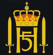 Coat of arms (crest) of the His Majesty The King's Guard, Norwegian Army