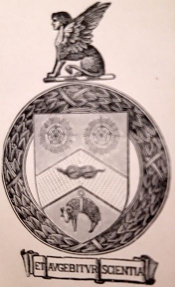 Arms of University of Leeds