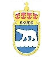 Coat of arms (crest) of the Fast Missile Boat KNM Skudd, Norwegian Navy