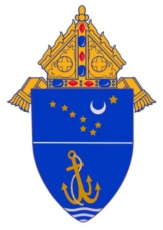 Arms (crest) of Archdiocese of Anchorage-Juneau