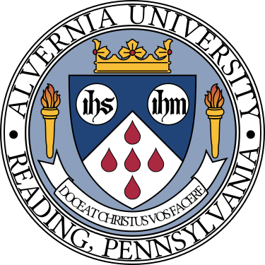 Arms (crest) of Alvernia University