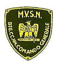 Coat of arms (crest) of the Headquarters Battalion, MVSN