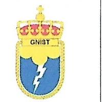 Coat of arms (crest) of the Fast Missile Boat KNM Gnist, Norwegian Navy