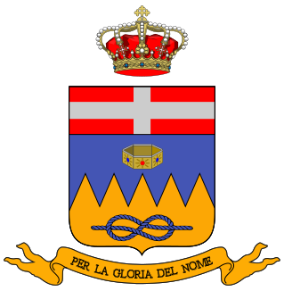 Arms of 10th Cavalry Regiment Lancieri di Vittorio Emanuele II, Italian Army