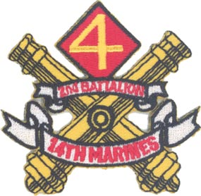 Coat of arms (crest) of the 2nd Battalion, 14th Marines, USMC