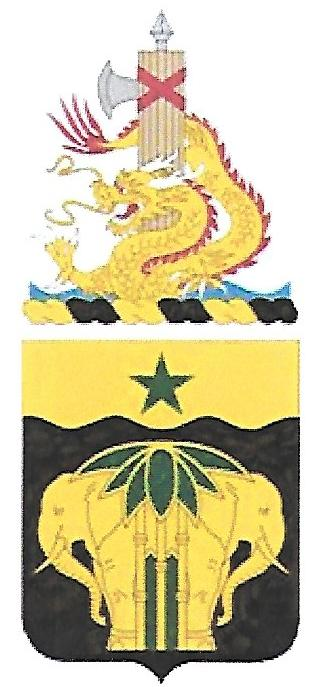 Arms of 40th Military Police Battalion, US Army