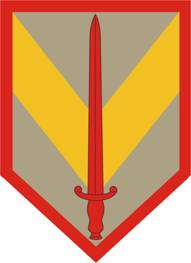 Arms of 1st Sustainment Brigade, US Army