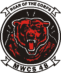 Coat of arms (crest) of the MWCS-48 Roar of the Corps, USMC