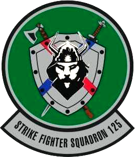 Coat of arms (crest) of the VFA-125 Rough Raiders, US Navy