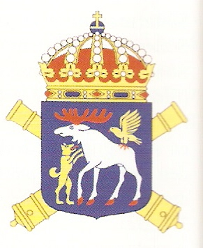 Coat of arms (crest) of the 4th Artillery Regiment Norrland Artillery Regiment, Swedish Army