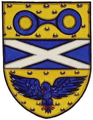 Arms of Scottish National Committee of Ophthalmic Opticians