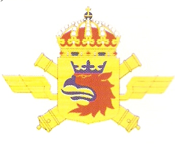 Coat of arms (crest) of the 4th Air Defence Regiment Scanian Air Defence Regiment, Swedish Army