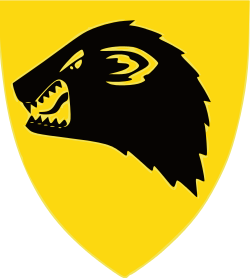 Coat of arms (crest) of the Armoured Battalion, Norwegian Army
