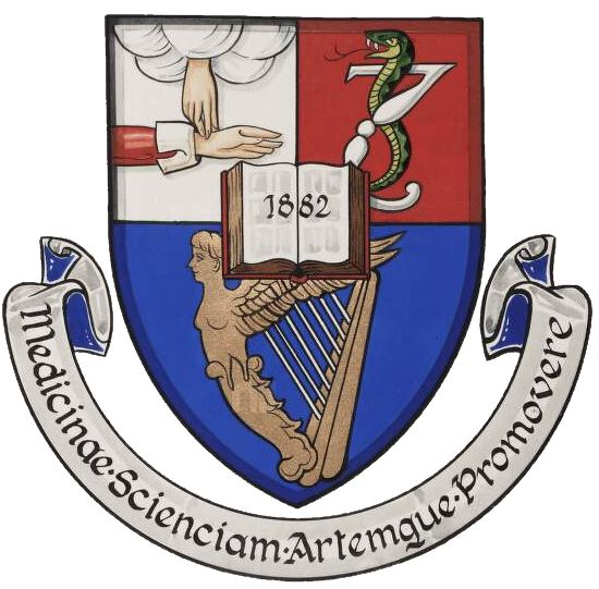 Arms of Royal Academy of Medicine in Ireland