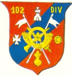 Coat of arms (crest) of the 102nd Division