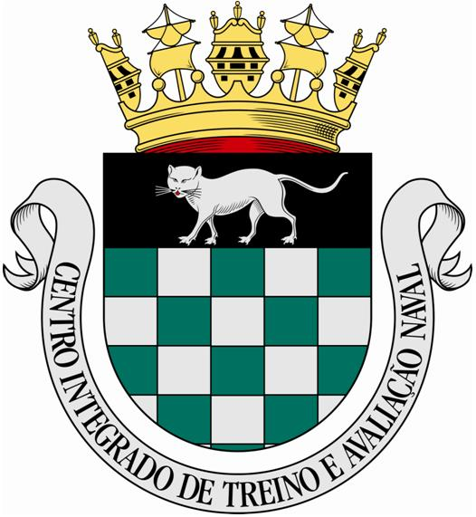 Coat of arms (crest) of the Integrated Center for Naval Training and Evaluation, Portuguese Navy