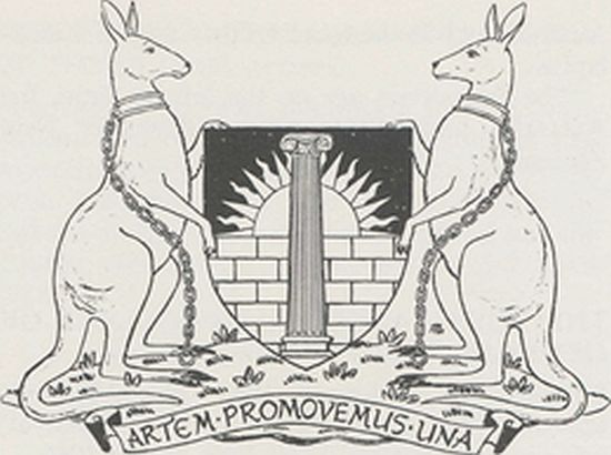 Arms of Royal Australian Institute of Architects